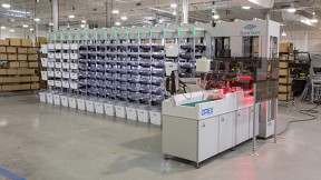 Sure Sort™ sorts up to 2,400 items per hour with 3 operators