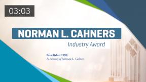 Norman L. Cahners Award: David Reh