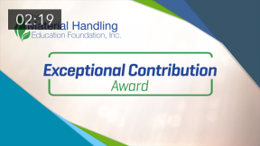The MHEFI Exceptional Contribution Award: Presented to The Raymond Corporation for iWarehouse