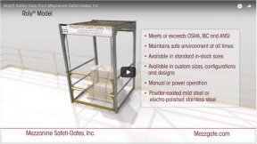 Fall Protection with the Roly Safety Gate