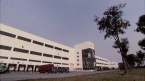 Sortation Solution at Nike China Logistics Center