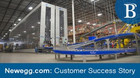 Inside the Newegg.com 400,000 sq. ft Robotic Distribution Center