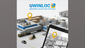Indoor Location Battery-Free Tags - Industry 4.0 Warehouse Optimization