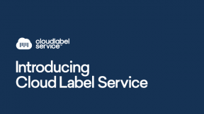 Centralize Label Templates with Cloud Label Service