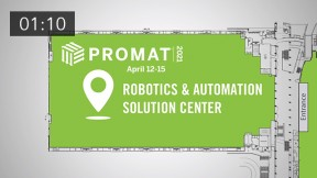 New Show Feature for 2021 - ProMat 2021 Robotics and Solution Center